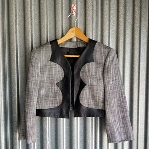 Nine West Crop Blazer